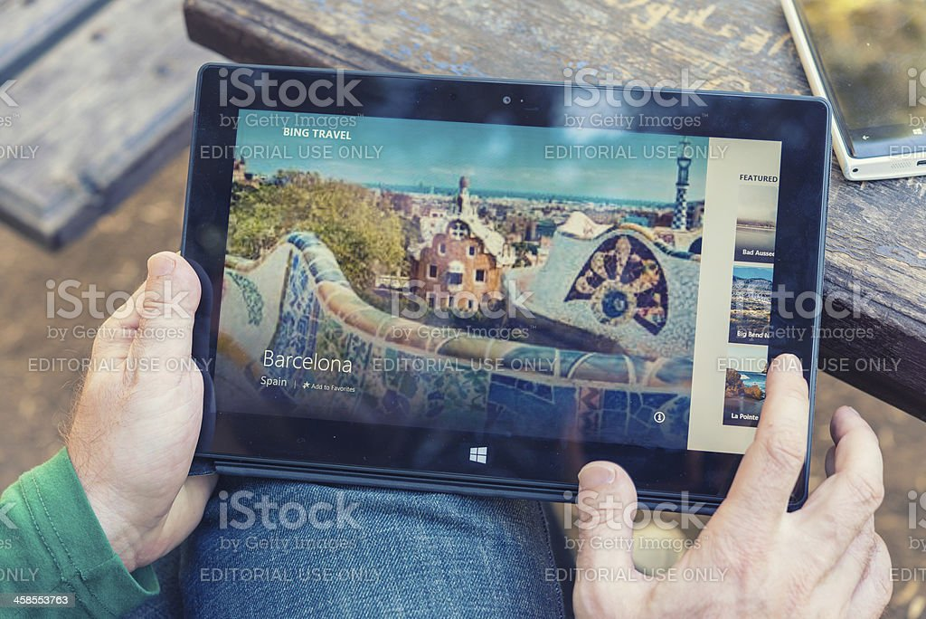 Microsoft Surface stock photo