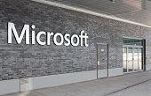 Microsoft Switzerland office entrance
