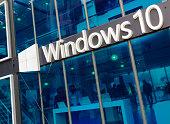 Microsoft Windows 10 promo pavilion