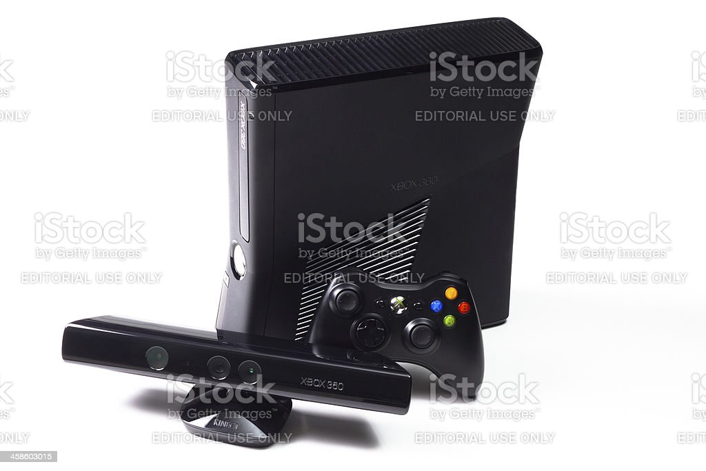 Microsoft Xbox 360 Game Console royalty-free stock photo
