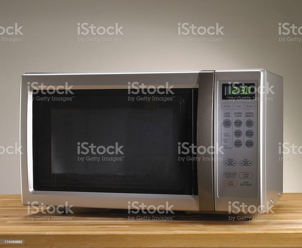 Microwave oven stock photo