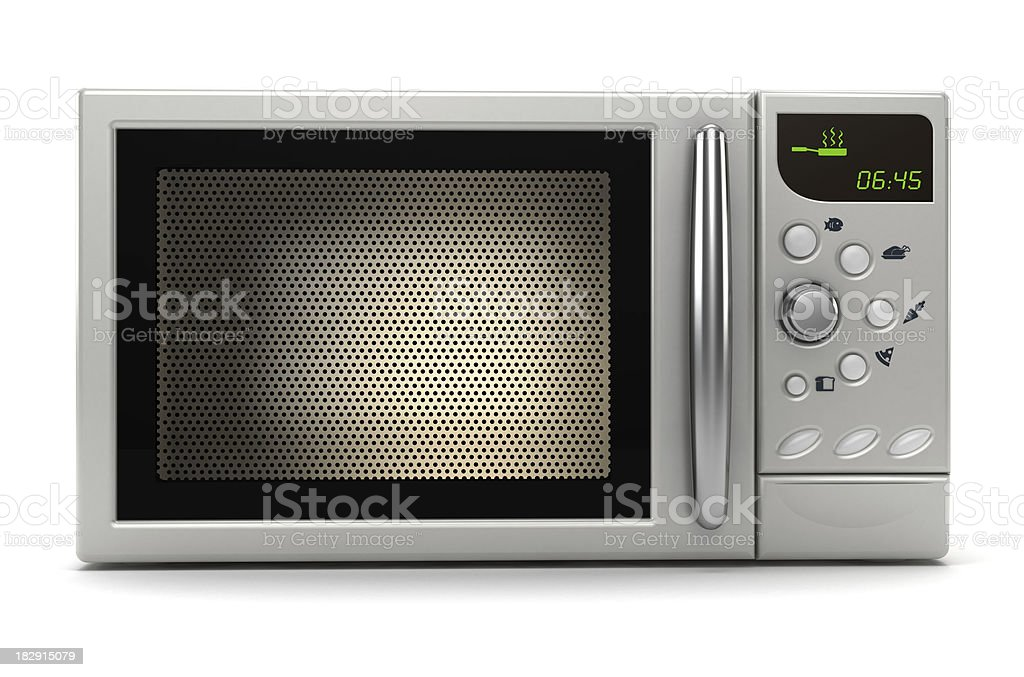 Microwave oven royalty-free stock photo