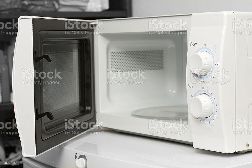 Microwave royalty-free stock photo
