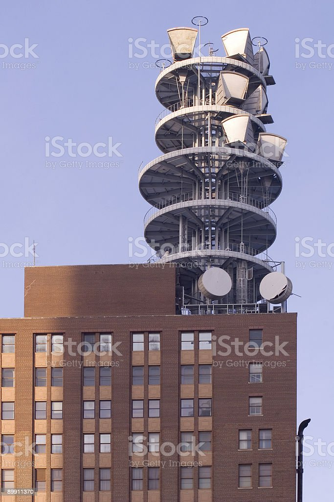 Microwave Structure royalty-free stock photo