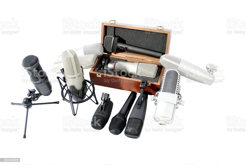 mics stock photo
