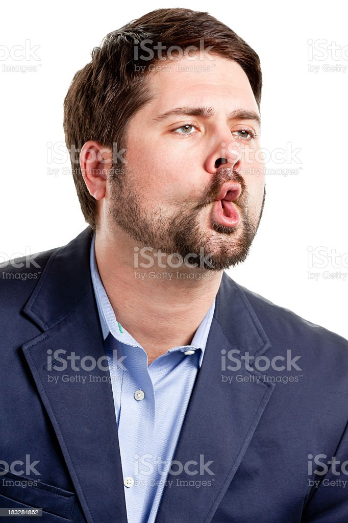 Mid Adult Male Portrait royalty-free stock photo