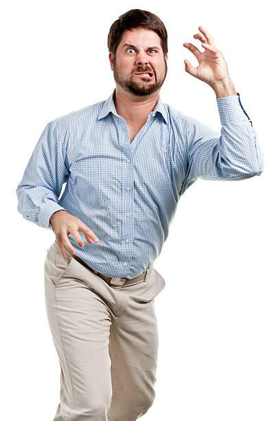 Retrato de hombre de mediana edad - foto de stock