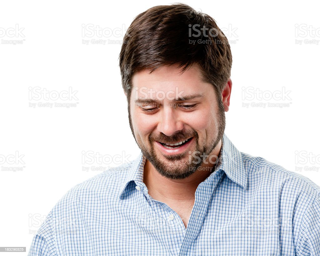Mid Adult Male Portrait stock photo