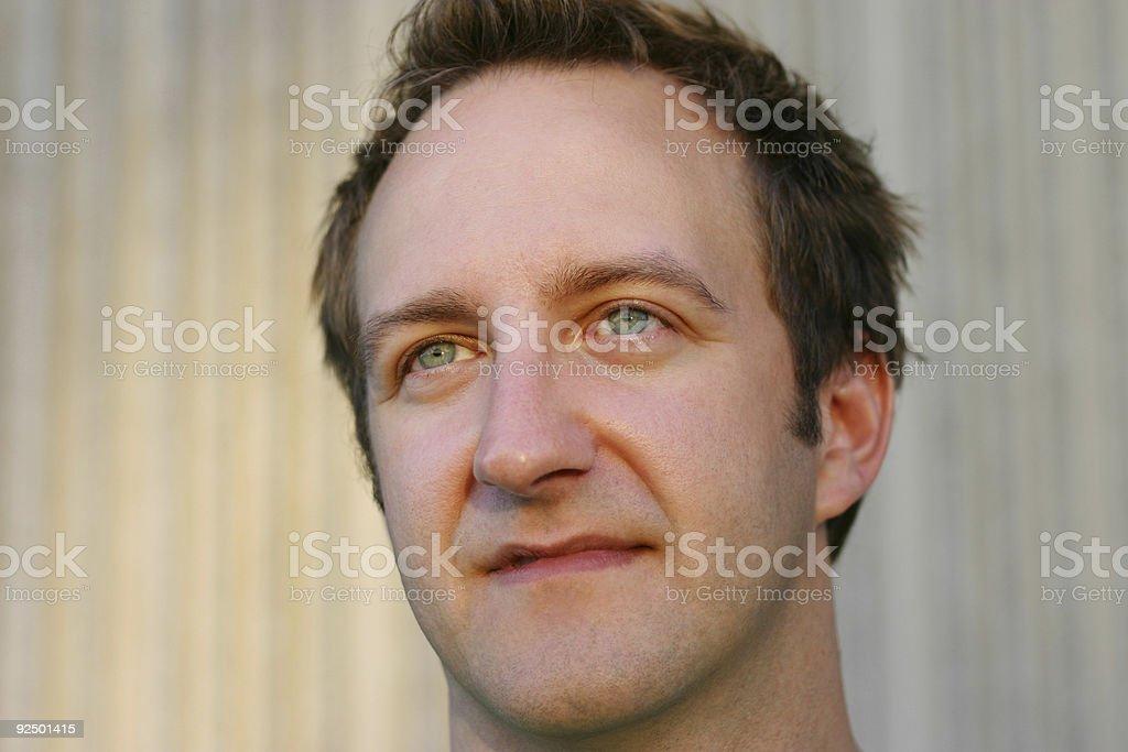 Mid Adult Man Portrait royalty-free stock photo