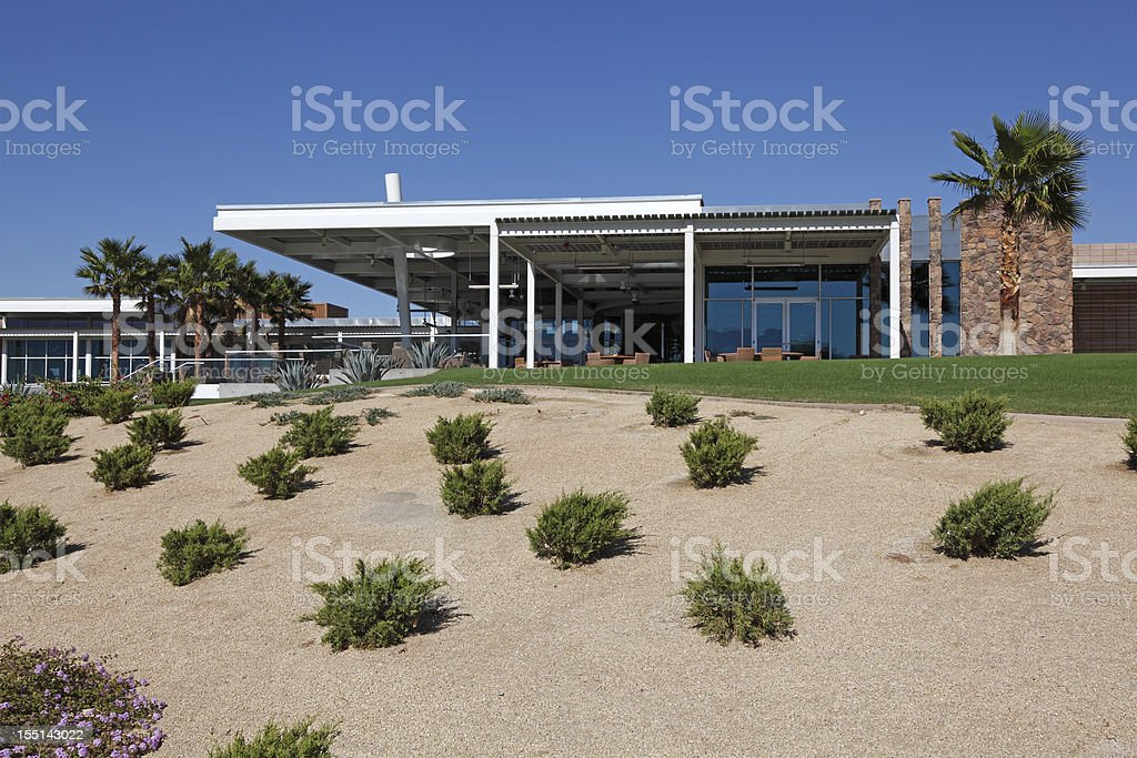 Mid Century Desert Architecture Of Palm Springs stock photo