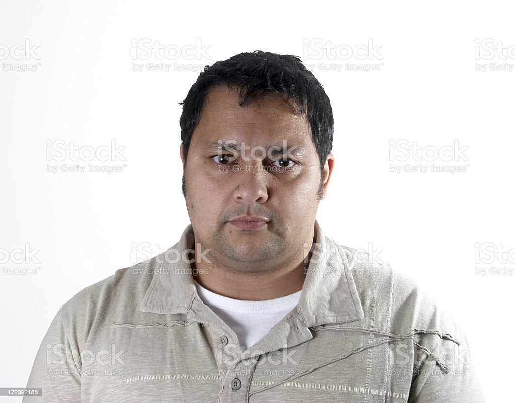 Mid Thirties Man Head And Shoulders Front Stock Photo Download Image Now Istock