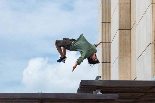 Mid-air Flip – zdjęcie