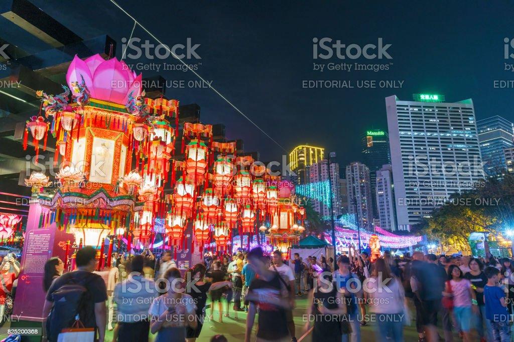 Mid-Autumn Festival in Hongkong – Foto