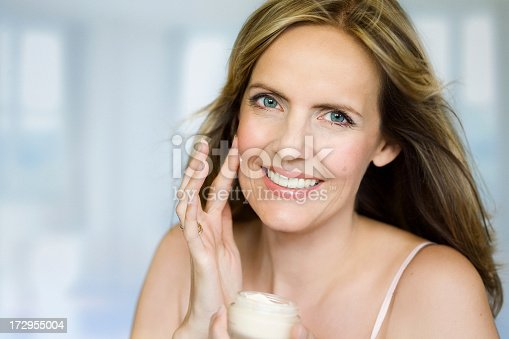 istock A middle aged female showing off her skin 172955004