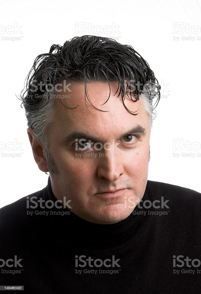 Middle Aged Man royalty-free stock photo