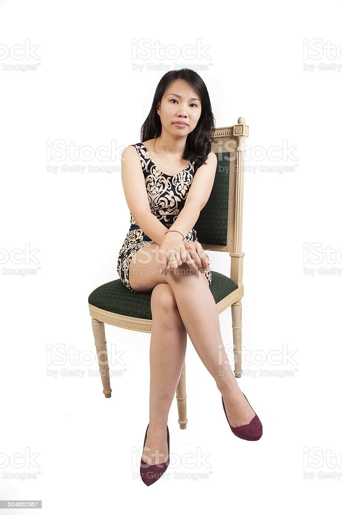 Middle Aged Vietnamese Women Sitting Stock Photo Download Image Now Istock