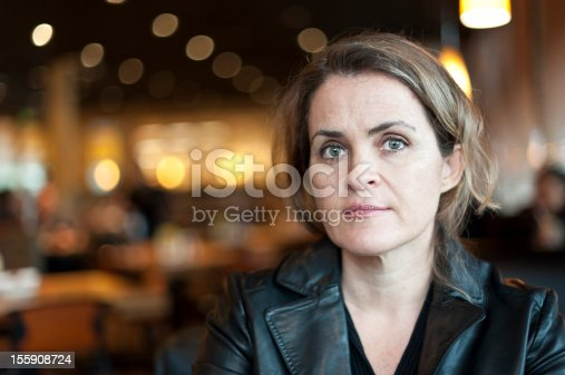 istock A middle aged women who is concerned 155908724