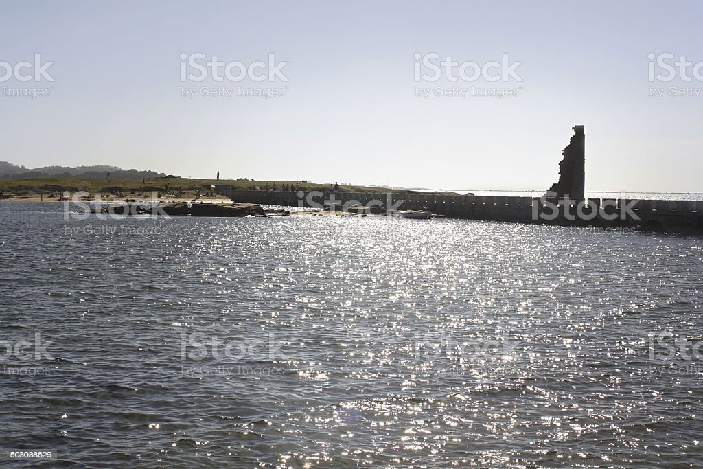 Middle ages ruins royalty-free stock photo