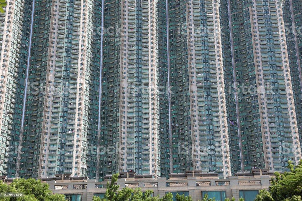 中產階層公寓香港東湧區圖像檔