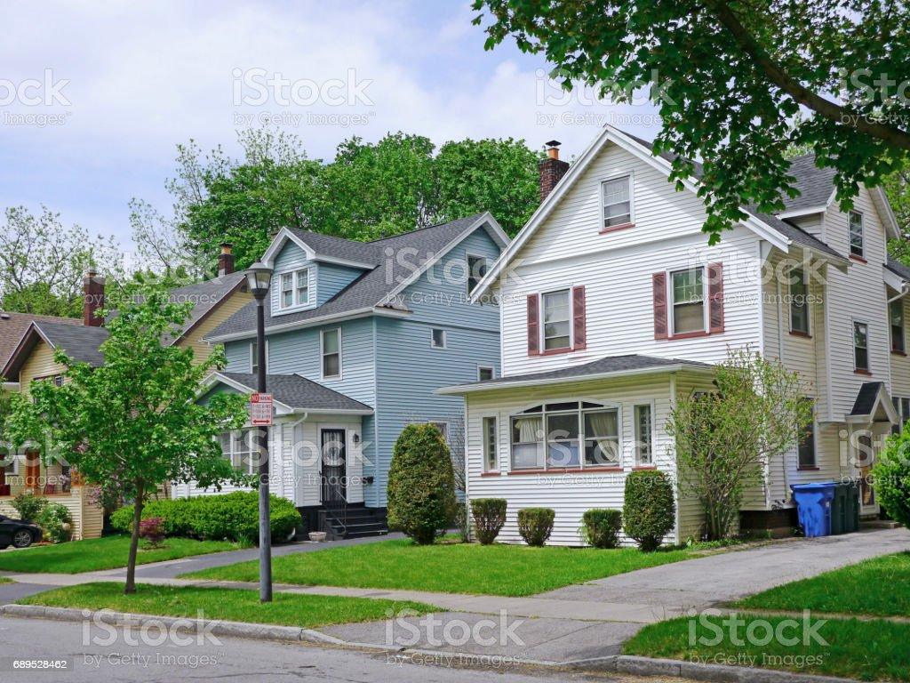 maisons bourgeoises de banlieue - Photo