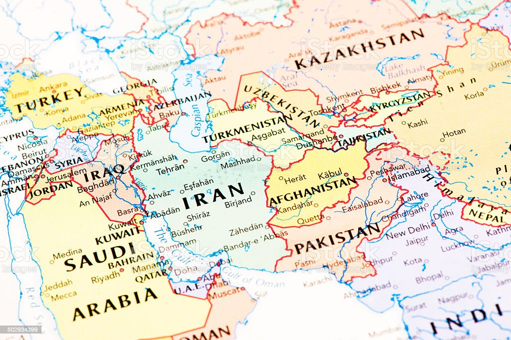 Middle East And Central Asia stock photo iStock