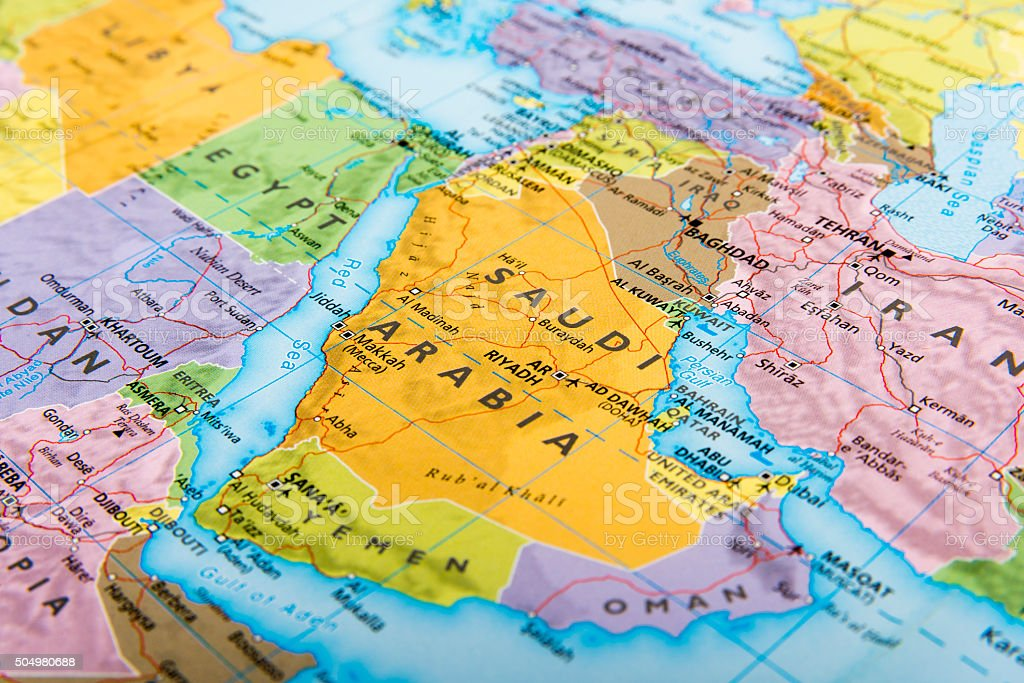 Middle East Countries stock photo