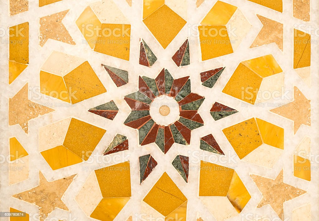 Middle East tile mosaic – Foto