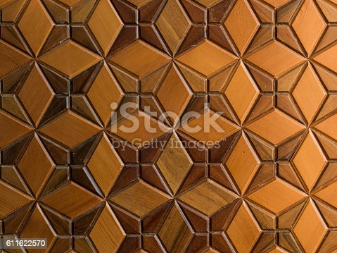 Middle Eastern Architectural wooden background
