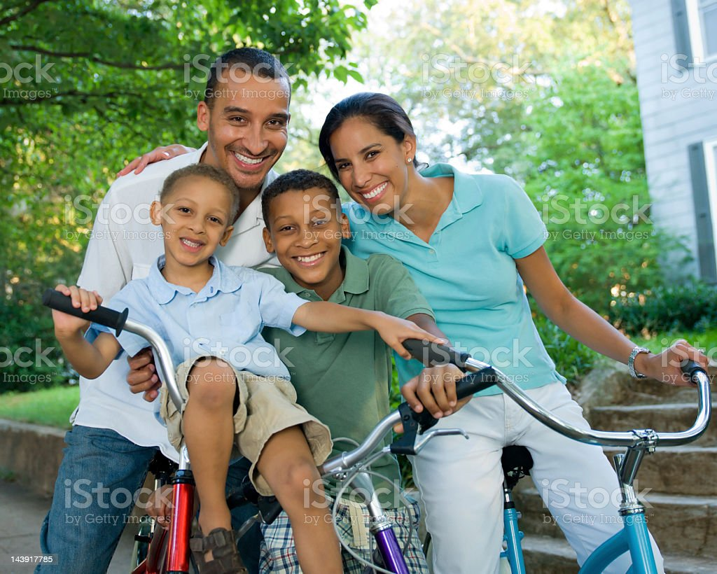 Middle Eastern Family royalty-free stock photo