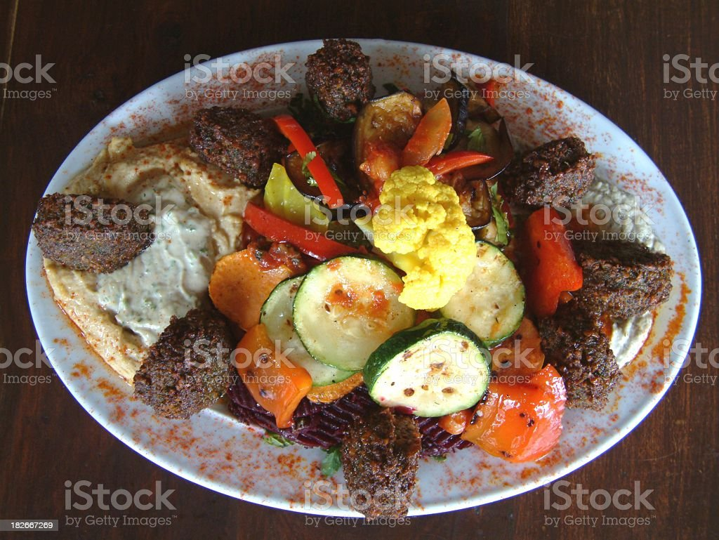 Middle Eastern Food 5 stock photo
