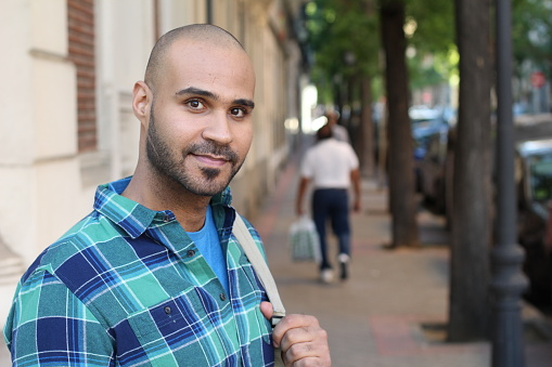 istock Middle Eastern man outdoors close up 1152263654