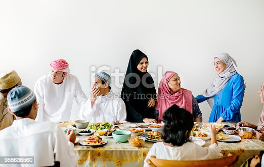 istock Middle Eastern Suhoor or Iftar meal 958638560