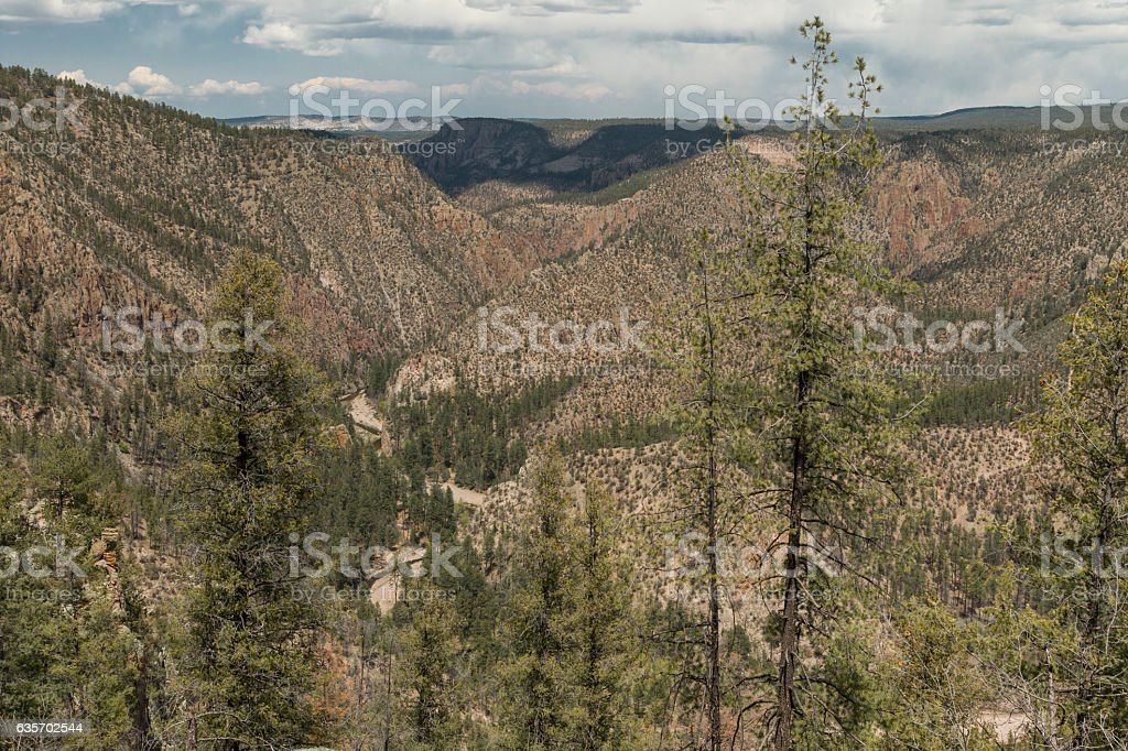 Middle Fork of the Gila River, New Mexico. royalty-free stock photo