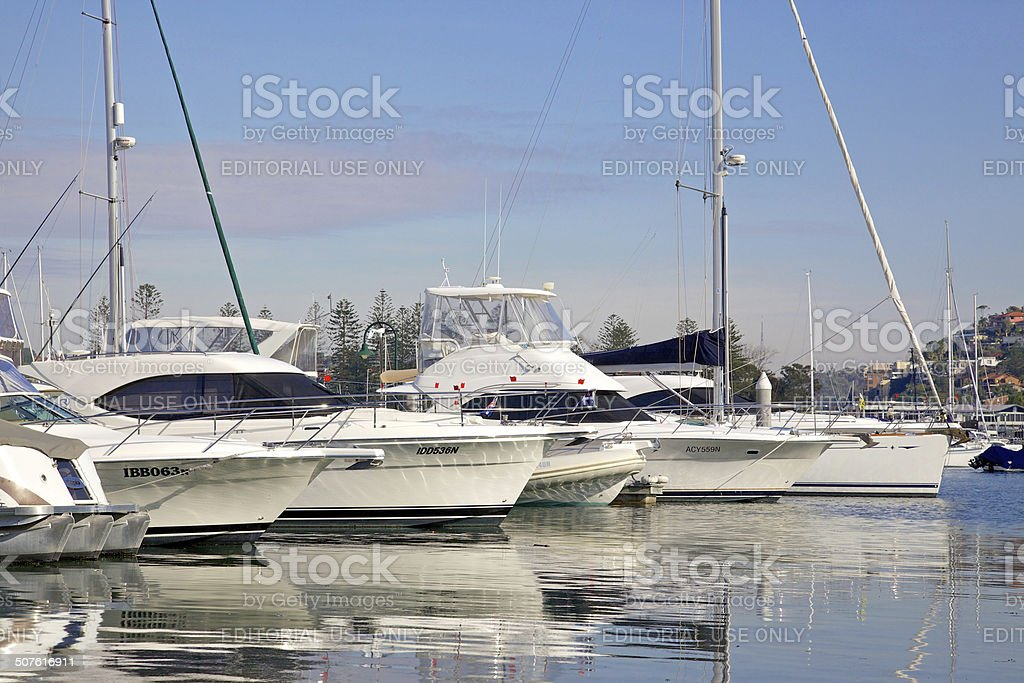 Middle Harbour, Sydney stock photo
