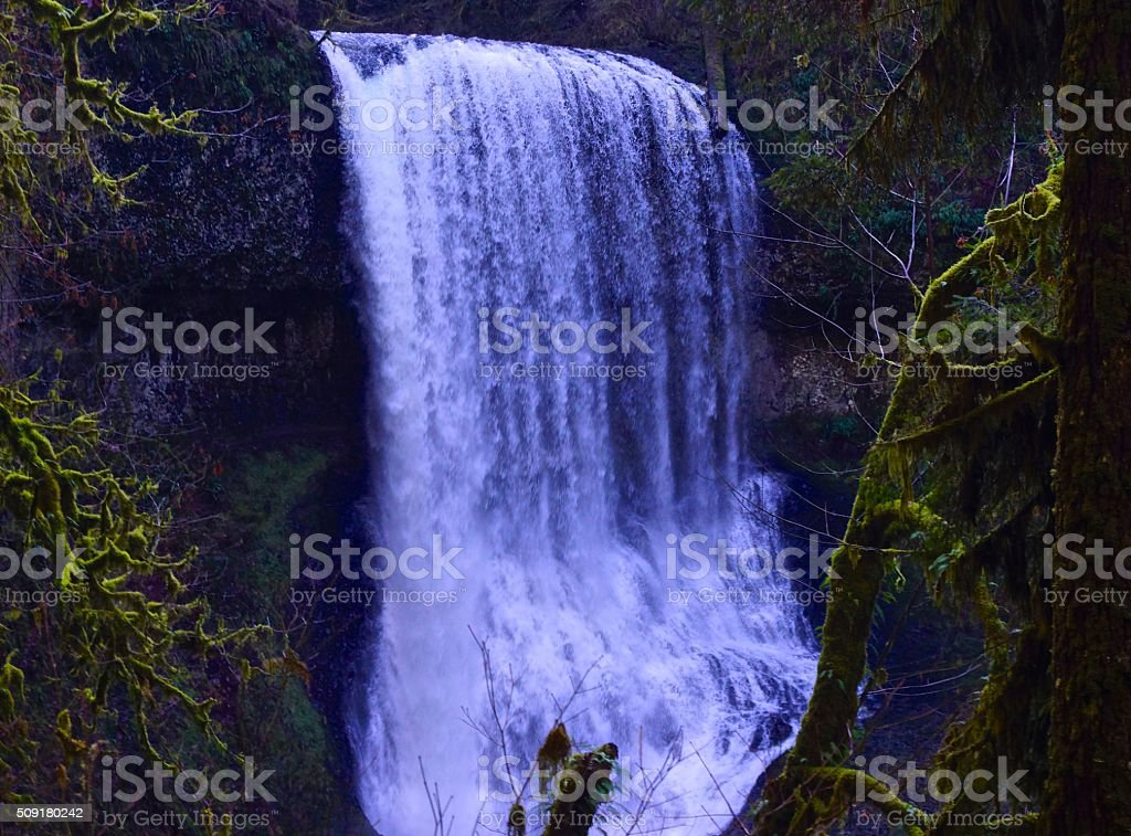 Middle North Falls stock photo