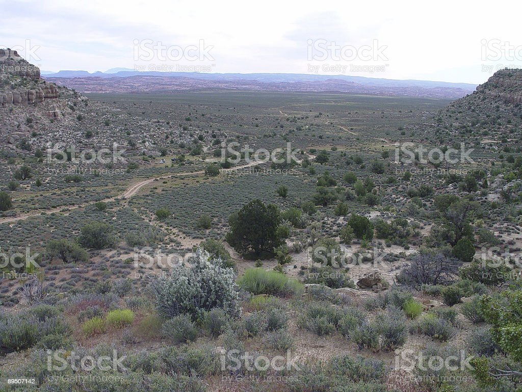 Middle of nowhere royalty-free stock photo