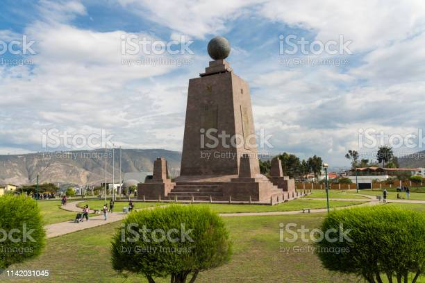 Middle Of The World Quito Stock Photo - Download Image Now