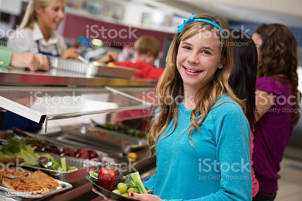 Middle school girl with students in cafeteria lunch line picture id155383292?b=1&k=6&m=155383292&s=612x612&h=btsfwwvzk8g4z376axdlmqyhrpzlze ahpgpftoiytc=