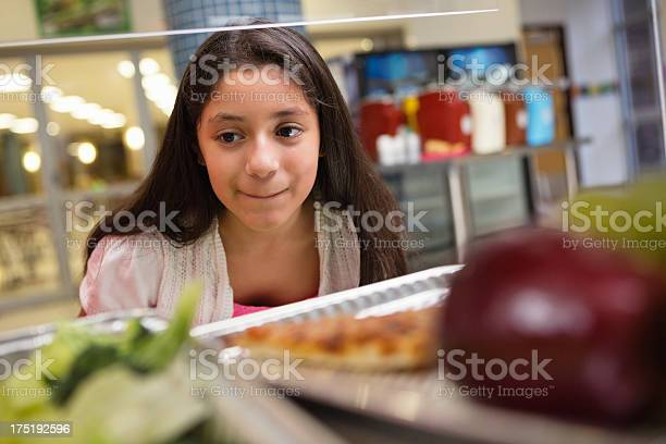 Middle school student choosing healthy unhealthy food in lunch line picture id175192596?b=1&k=6&m=175192596&s=612x612&h=3xmw9o1vjrfakb381zgixdwvlkdgmgcvdwjcnfipae0=