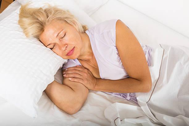 Mature sleeping women-9030