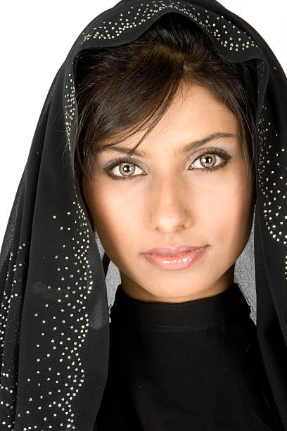 Middle-Eastern Woman stock photo
