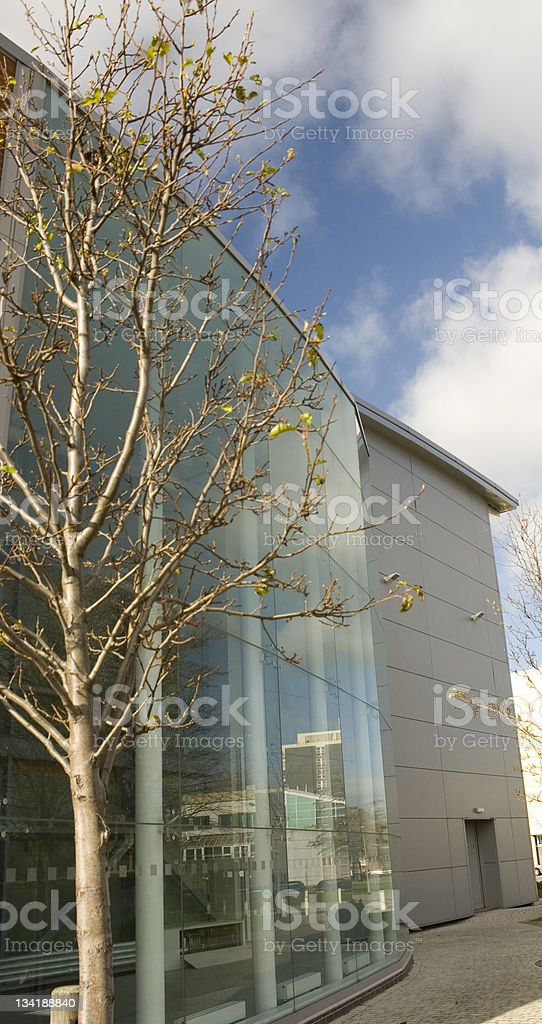 Middlesbrough College royalty-free stock photo