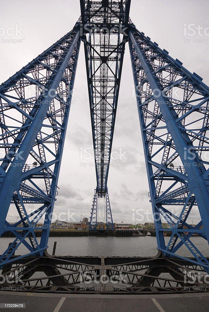 Middlesbrough Transporter Bridge stock photo