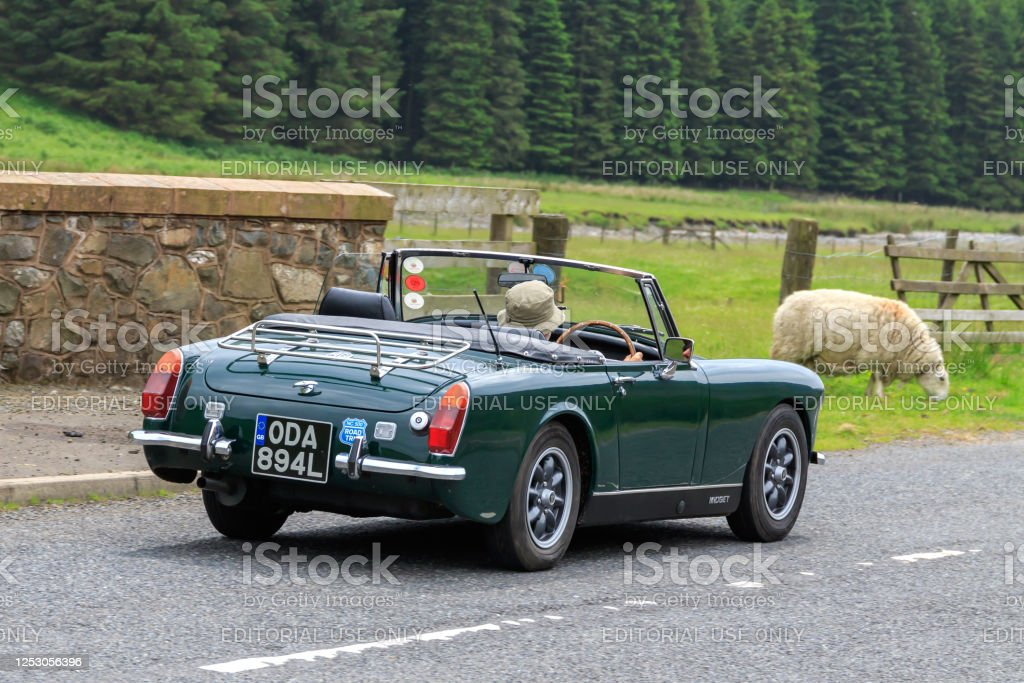 Mg Midget Sports Car Stock Photo - Download Image Now