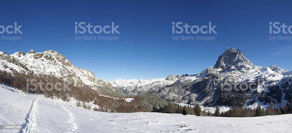 Midi d'Ossau royalty-free stock photo