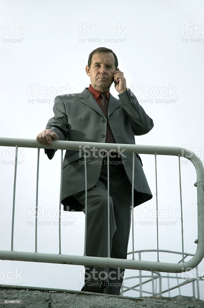 midle aged businessman royalty-free stock photo