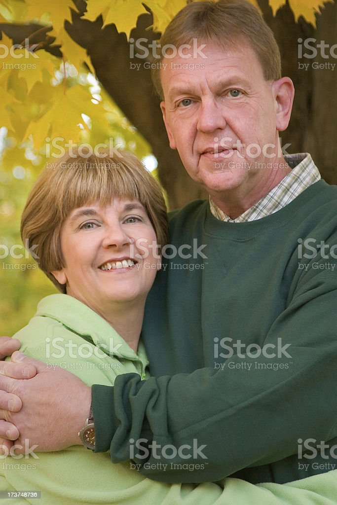 Midlife Series: Happy Together royalty-free stock photo