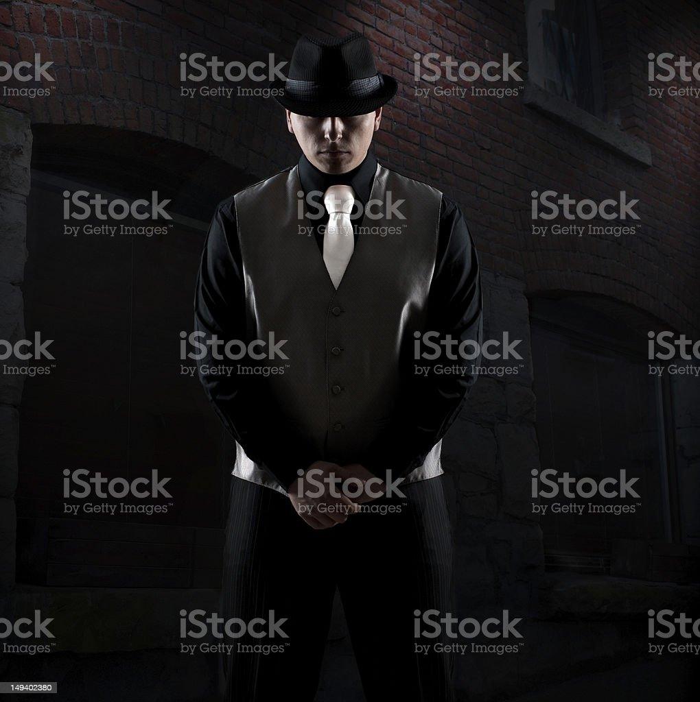 Midnight killer stock photo