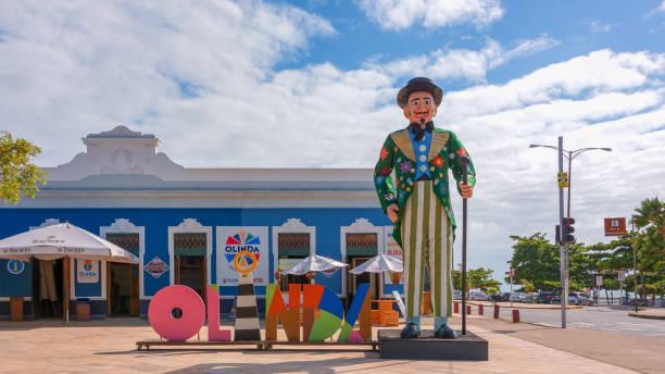 Midnight Man, eine riesige Puppe von Olinda Karneval... – Foto