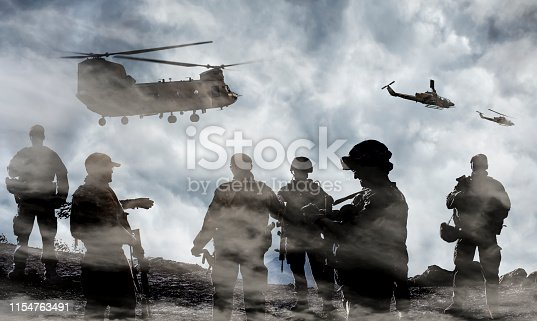 istock Midnight Military Mission 1154763491